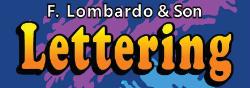 F. Lombardo & Son Lettering Logo